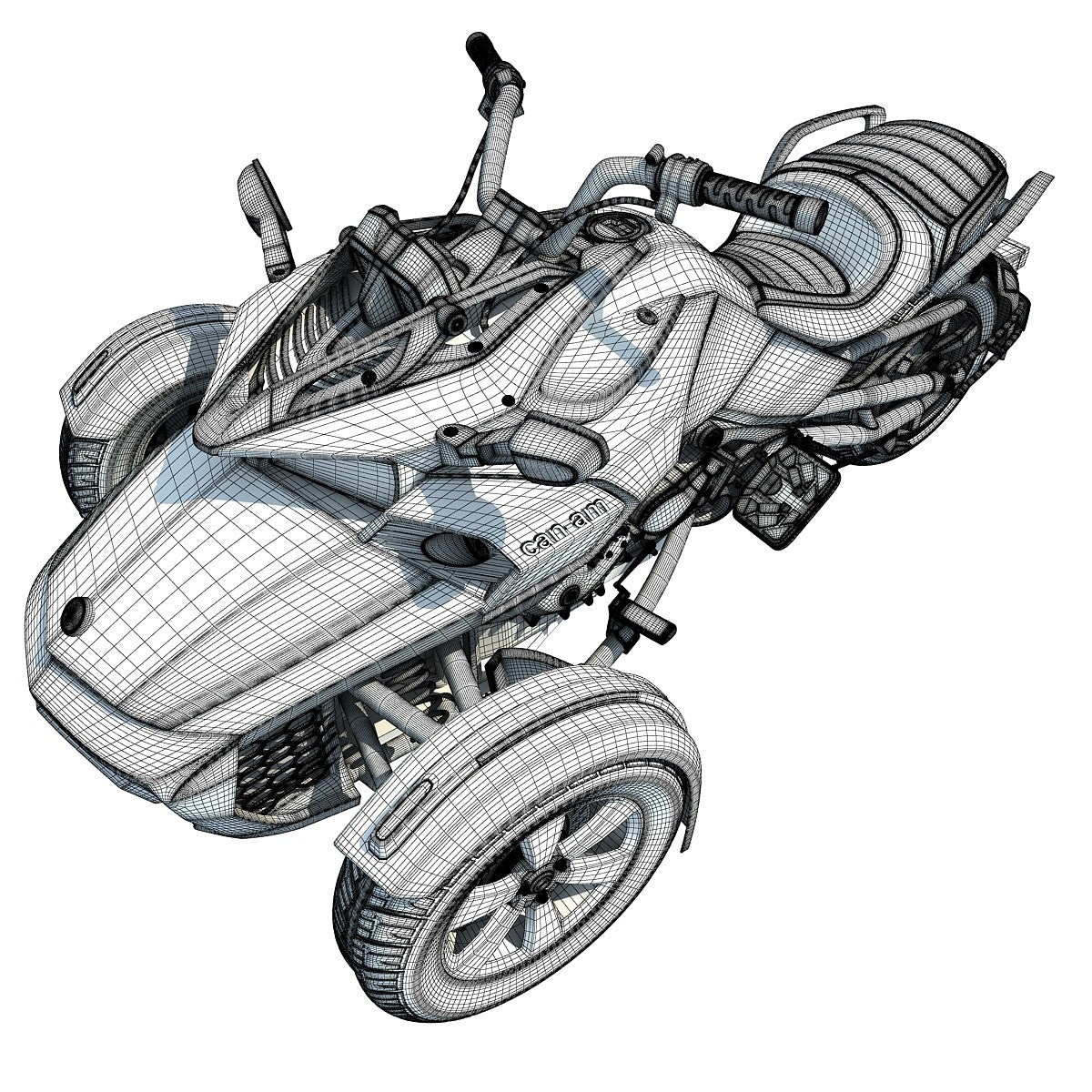 3D Motorcycle Models