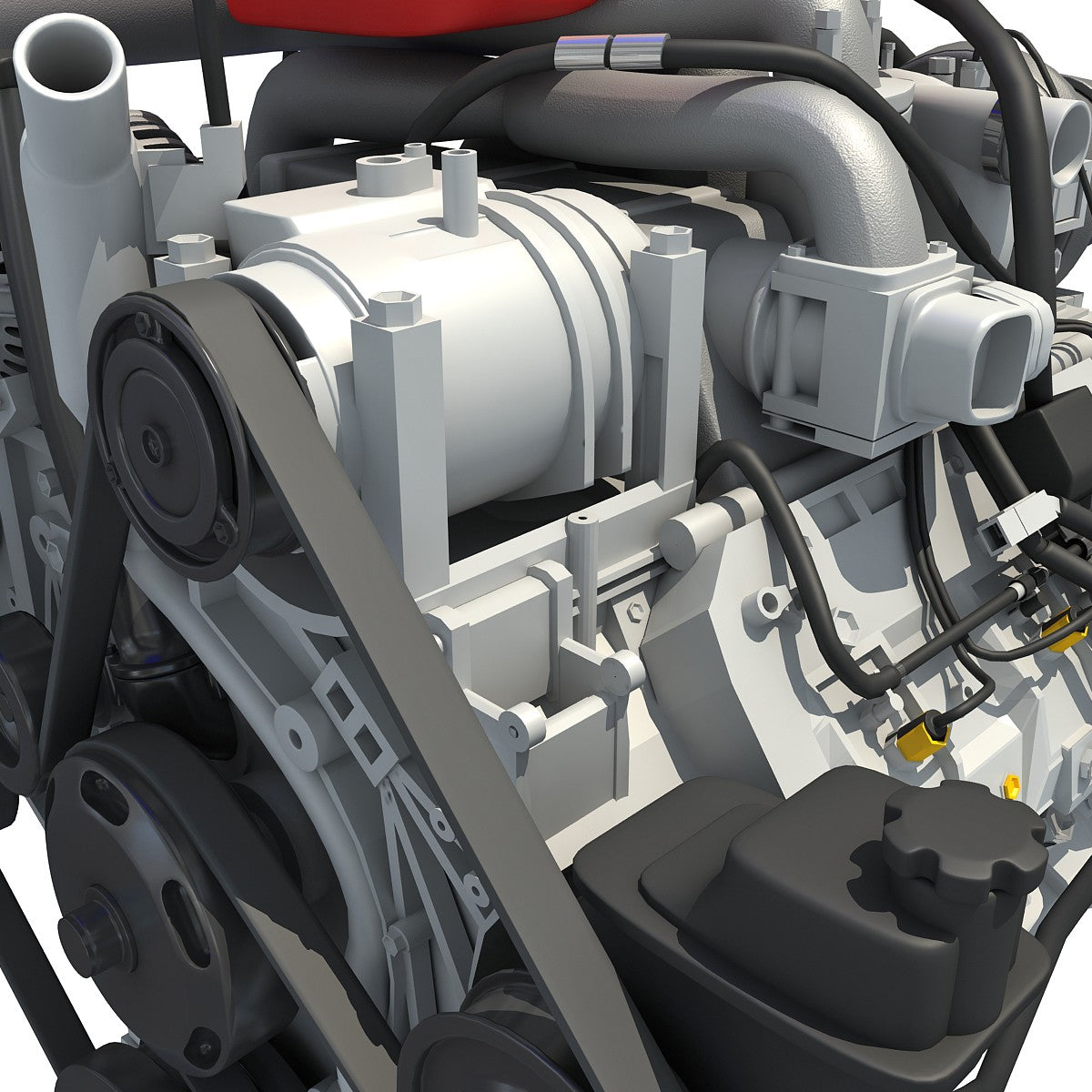 Car Engine 3D Models