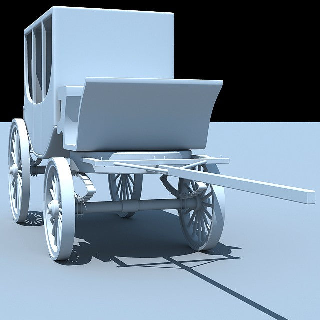 Carriage 3D Model