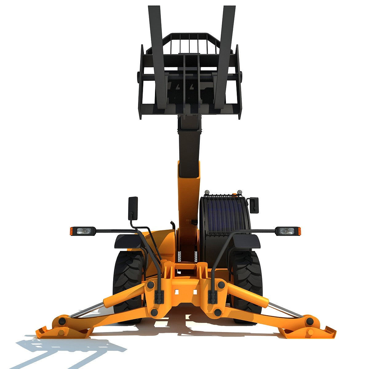 Telescopic Telehandler 3D Model