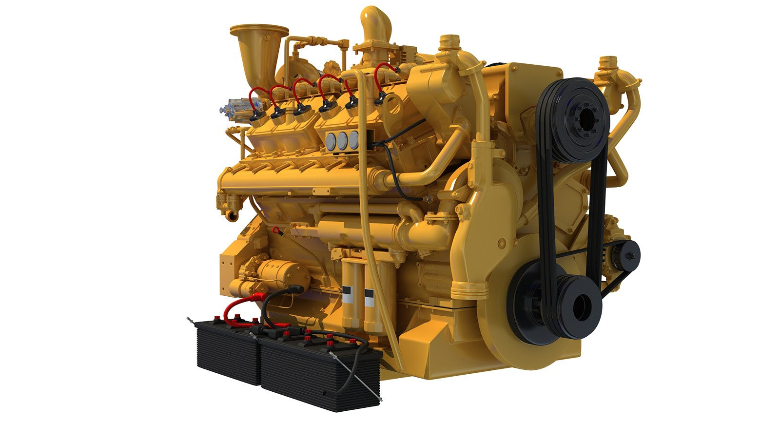 Cat Engine 3D Model