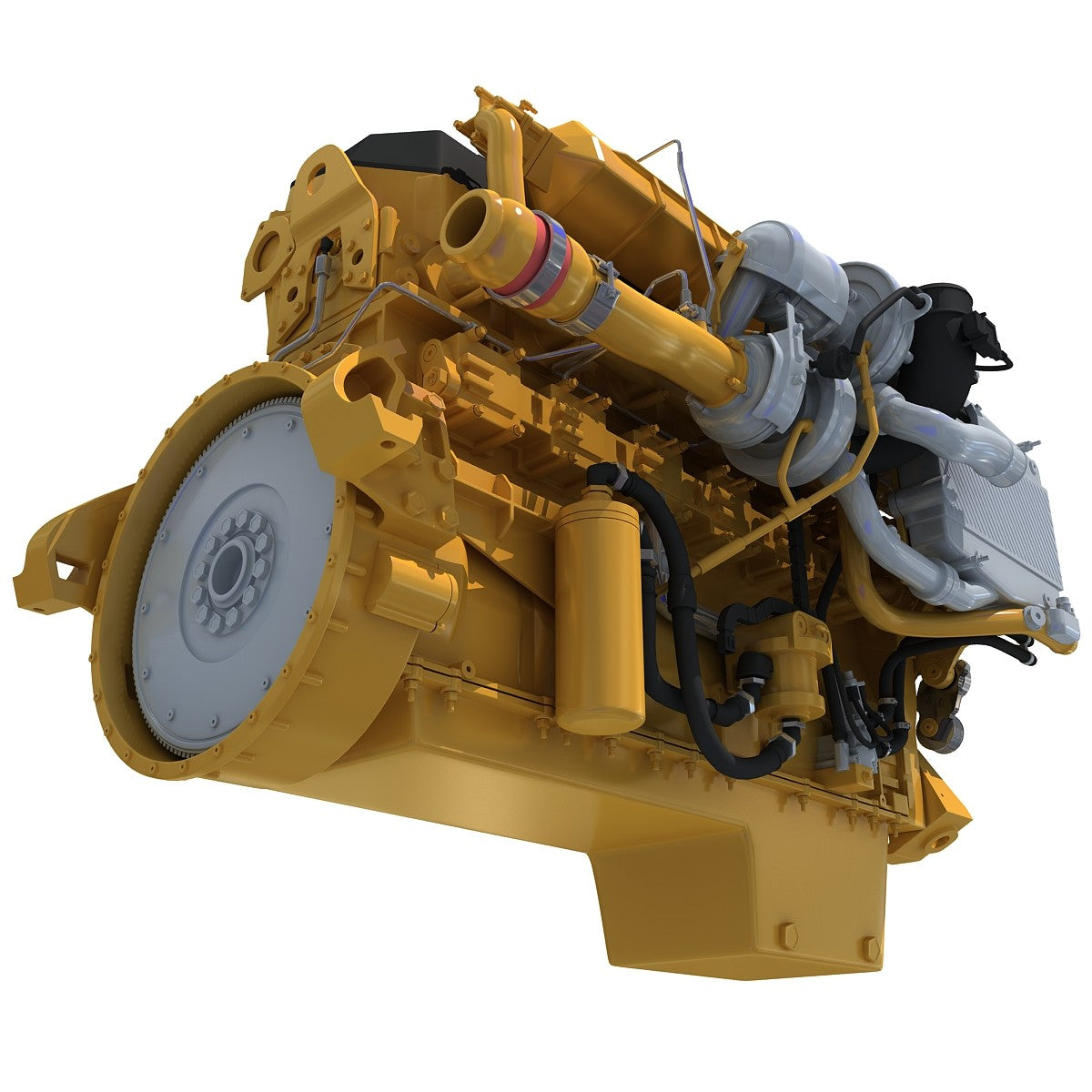 3D Truck Engine Models