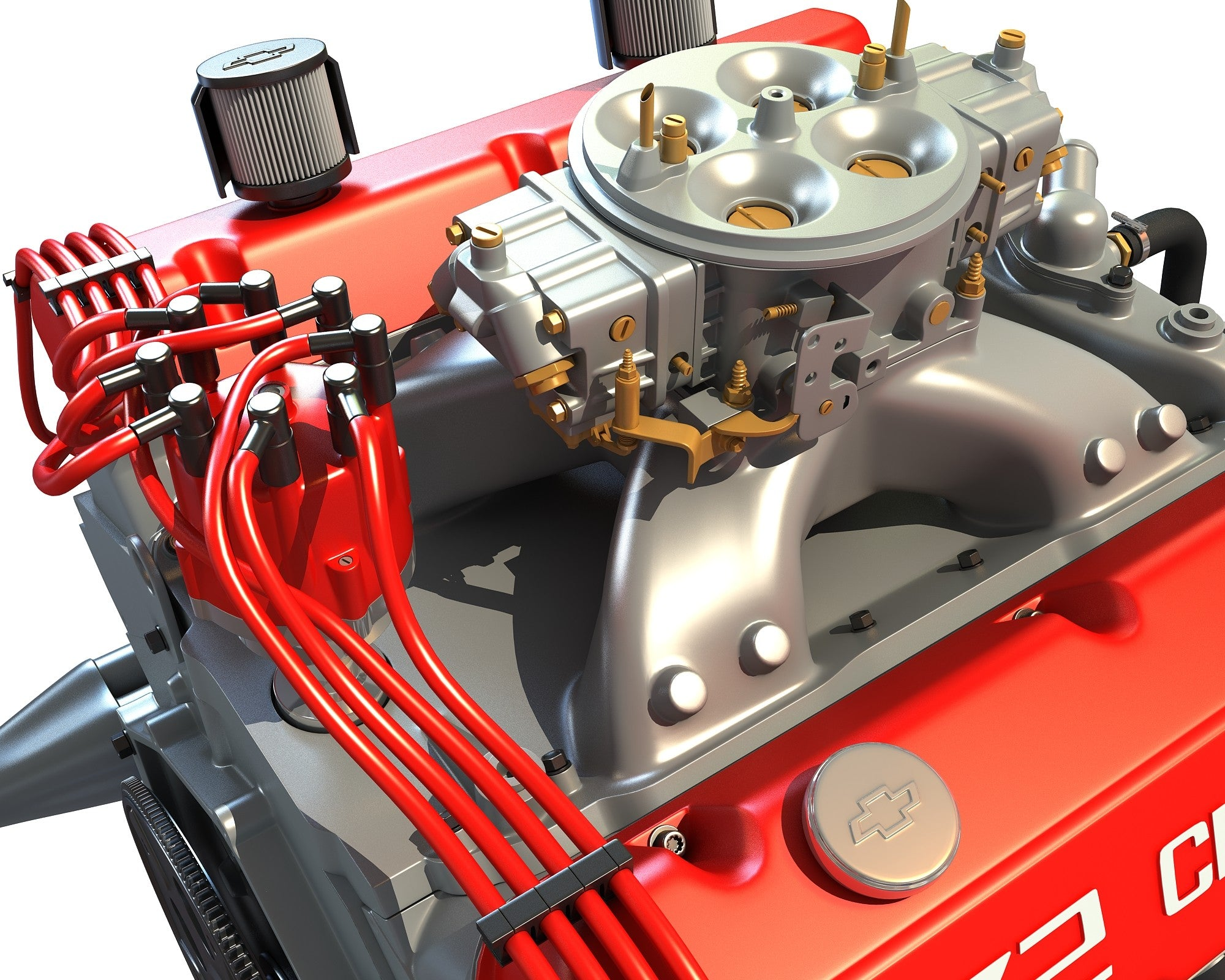 Big Block Deluxe Crate Engine