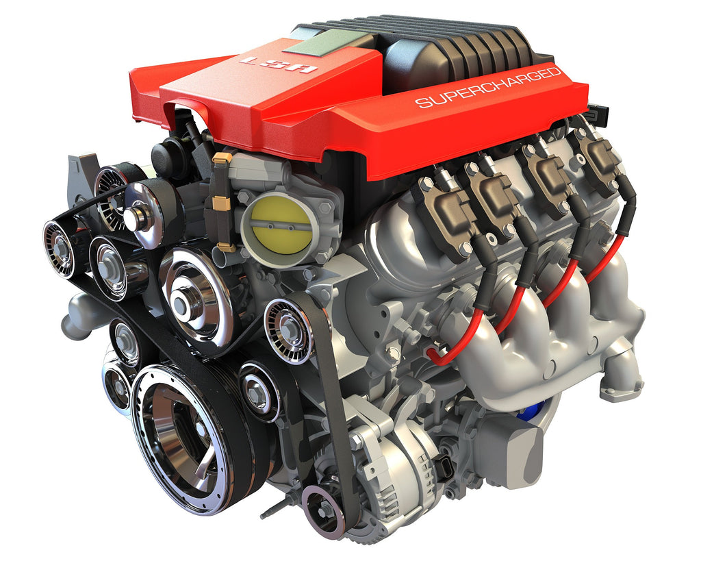 Chevrolet Camaro V8 Engine