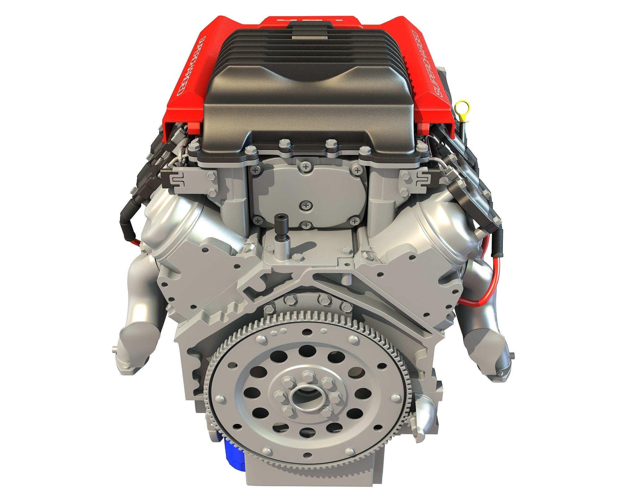 Chevrolet 3D Engine Model