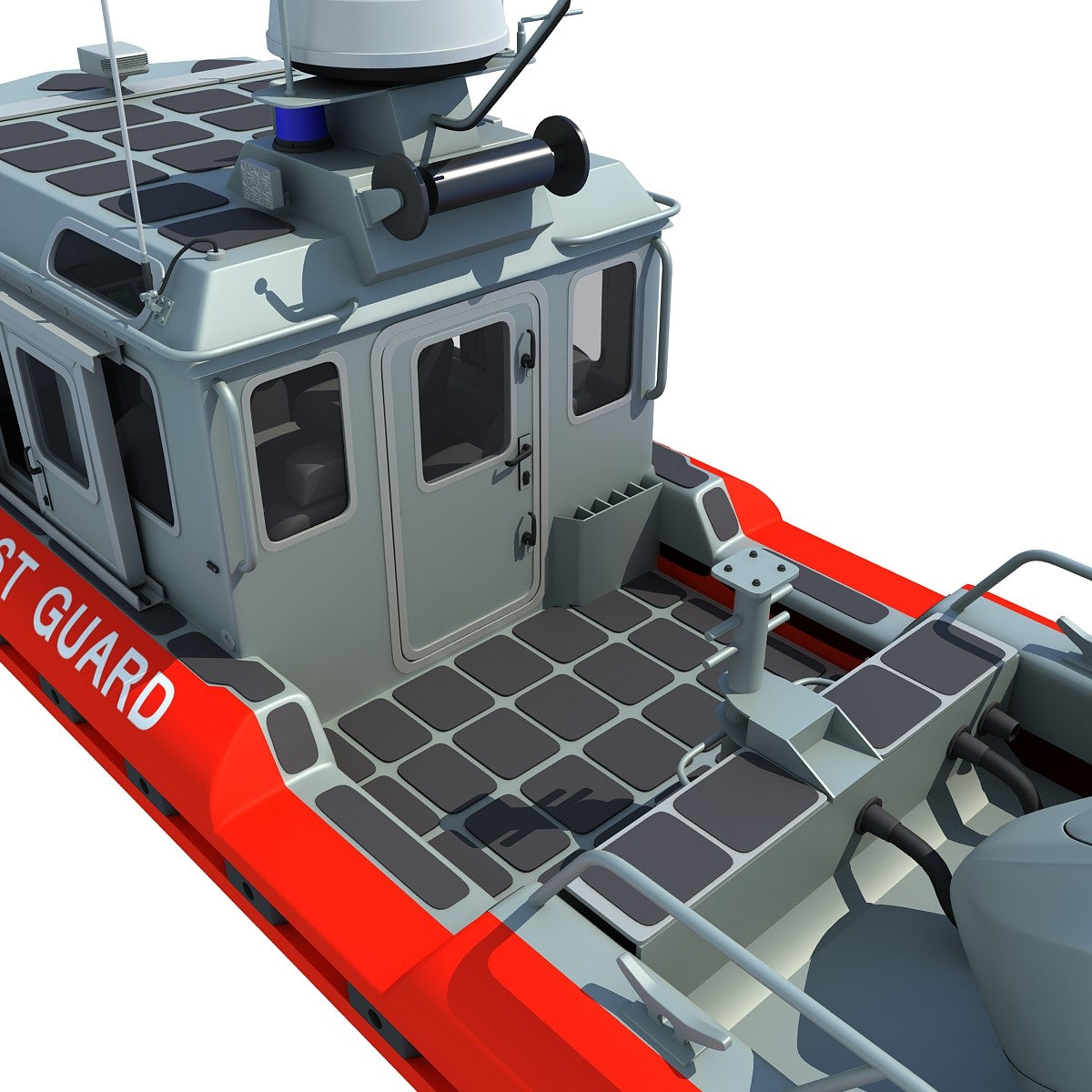 Coast Guard Defender Boat