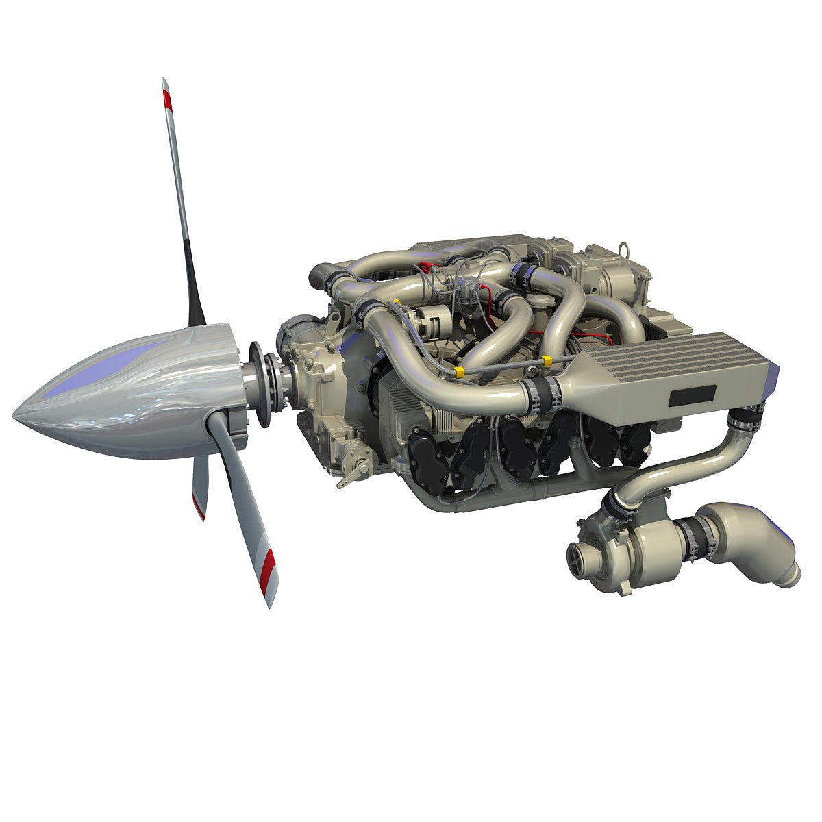 Continental IO-550 Aircraft Engine Model