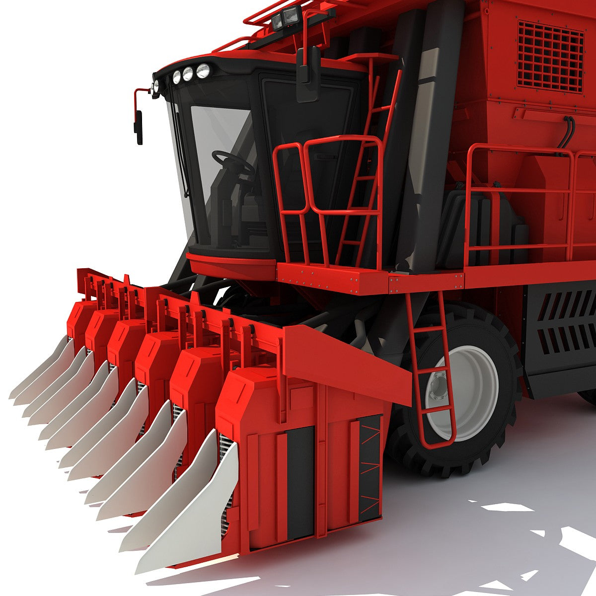 Cotton Picker - 3D Combines