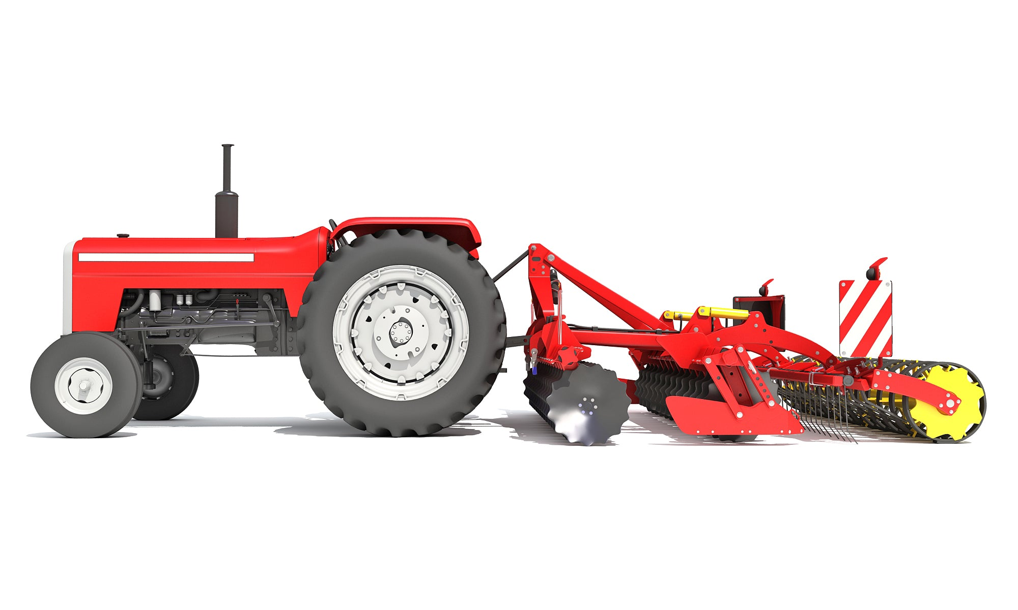Disc Harrow 3D Models