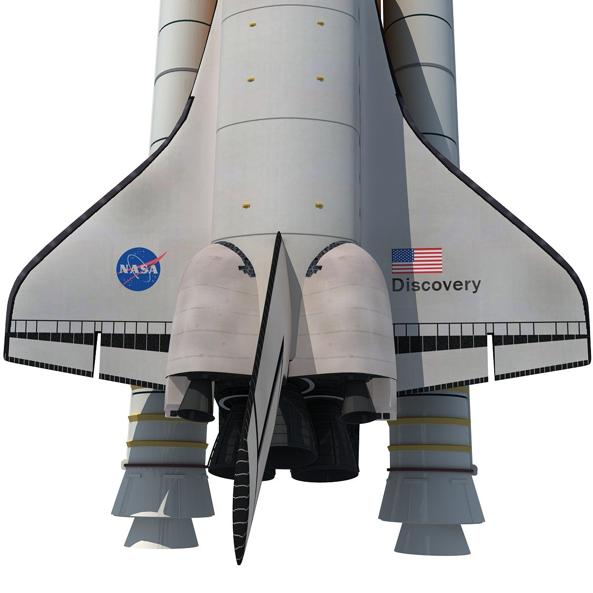 3D Models Space Shuttle