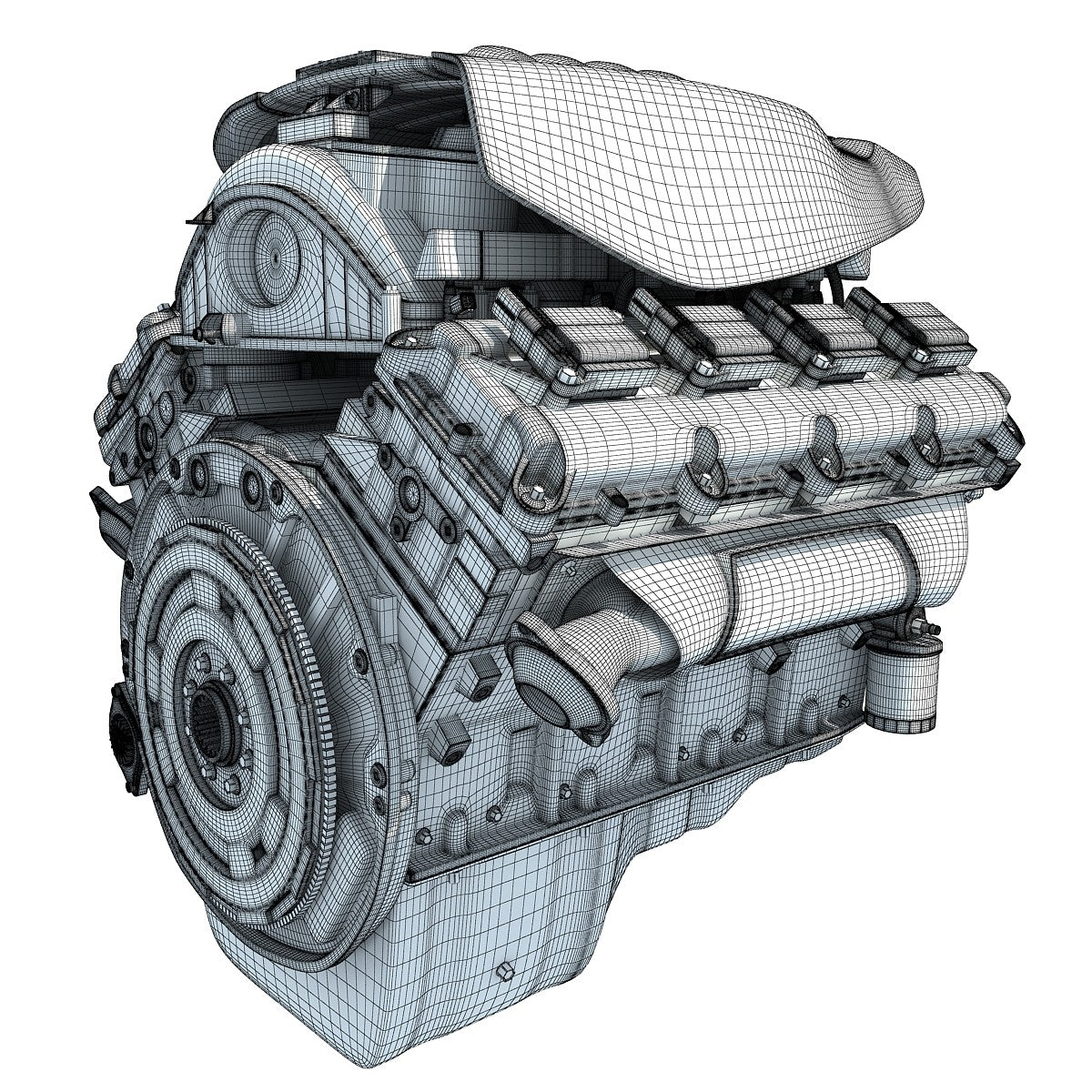 Dodge Ram V8 Engine Model