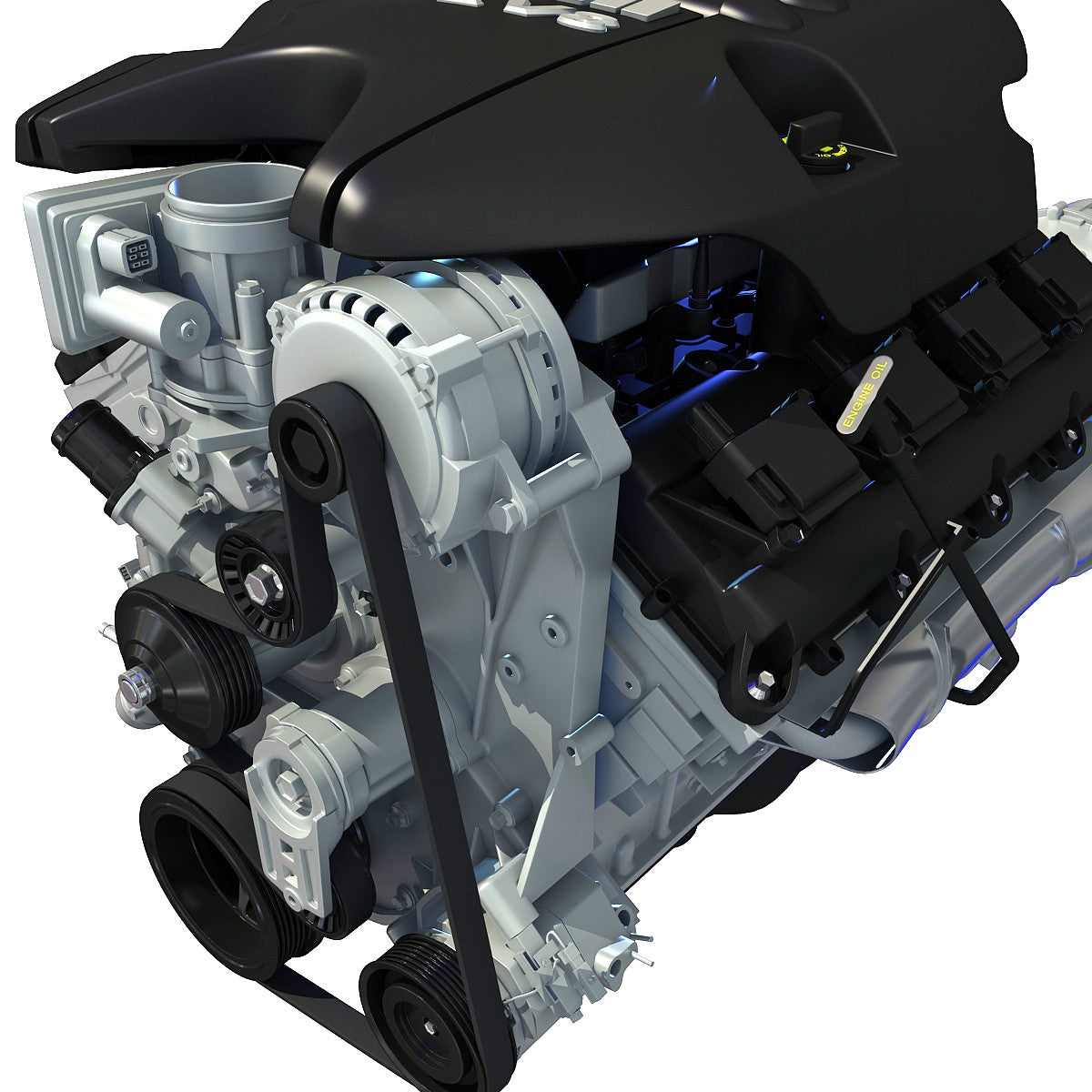 Dodge Ram V8 Engine