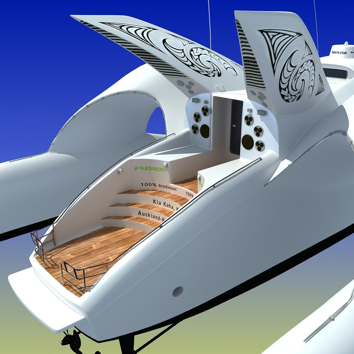 Earthrace Boat 3D Model