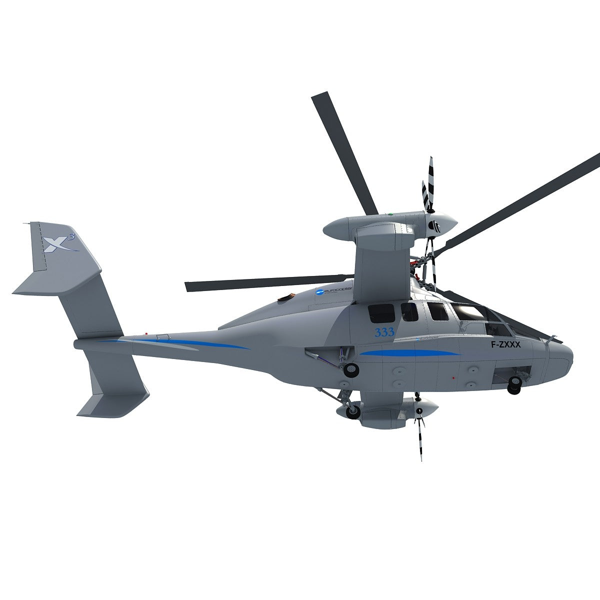 Eurocopter X3 Helicopter