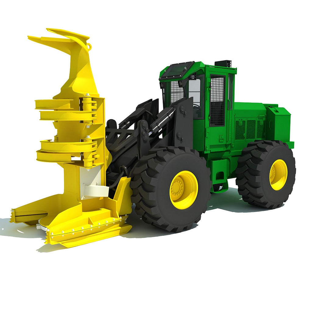 Feller Buncher Harvester