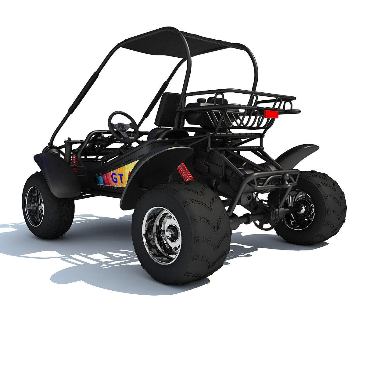 Off Road Buggy 3D Model