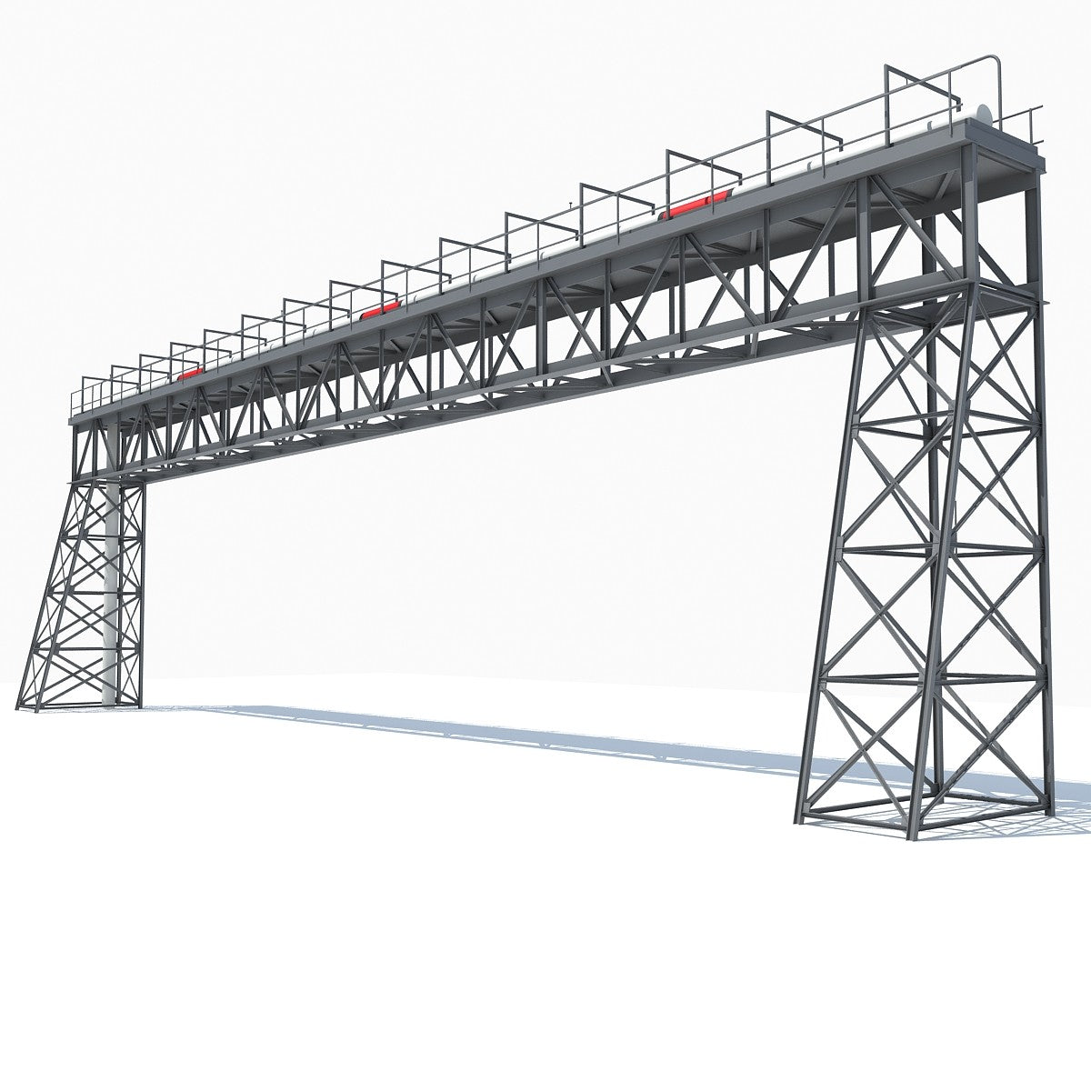 Industrial Tower 3D Model