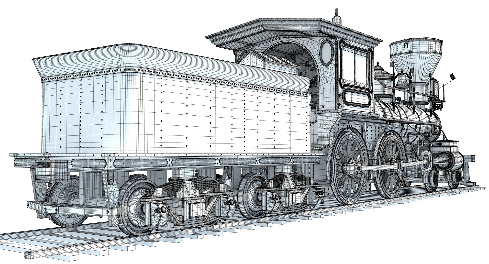 Jupiter Steam Locomotive
