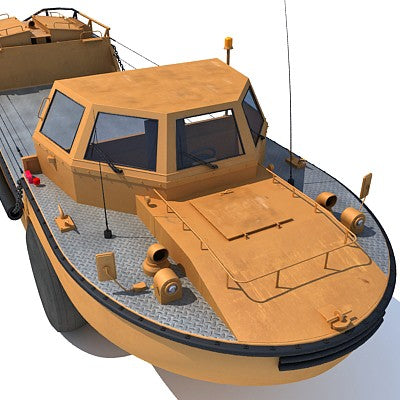 Army Amphibious Vehicle LARC-V
