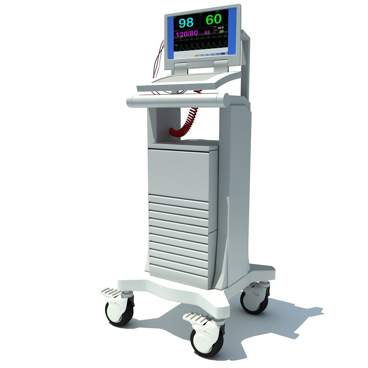 3D Medical Equipment Model