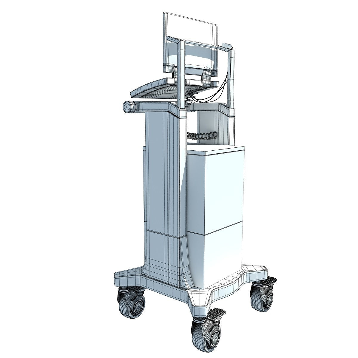 Hospital Medical Equipment 3D Models