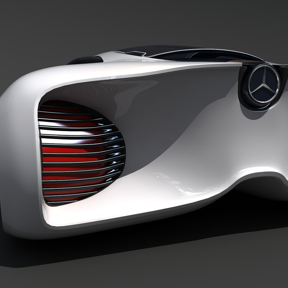 3D Mercedes Benz Car