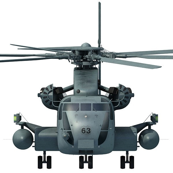 Sikorsky Sea Stallion Helicopter 3D Model