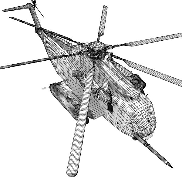 Sikorsky Sea Stallion Helicopter Model