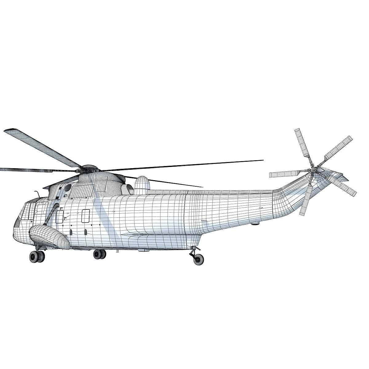 3D Helicopter Model