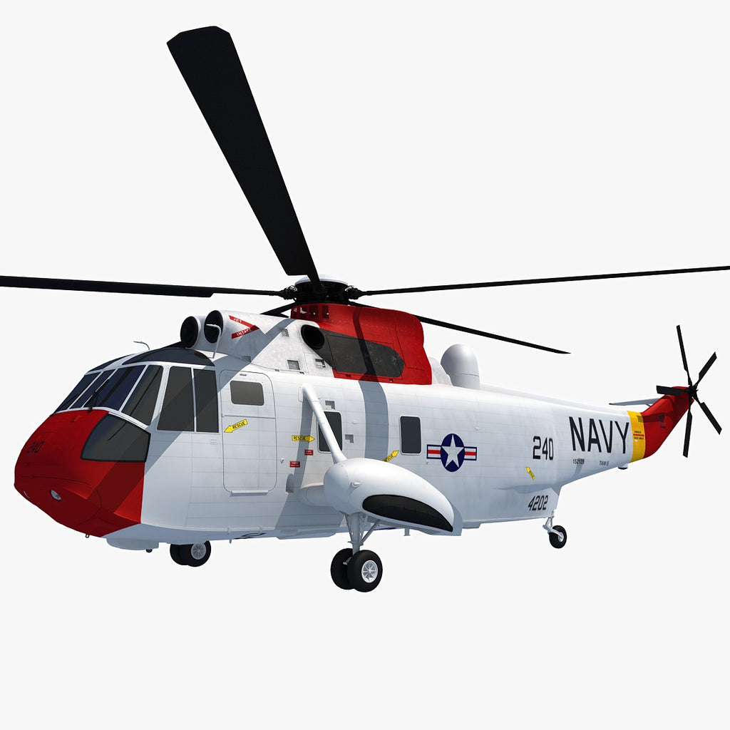 Helicopter Sikorsky SH-3 Sea King