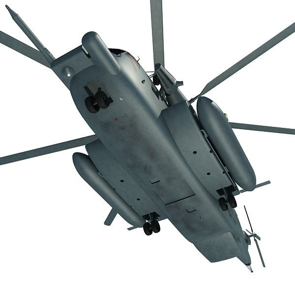 Military Helicopters 3D Models