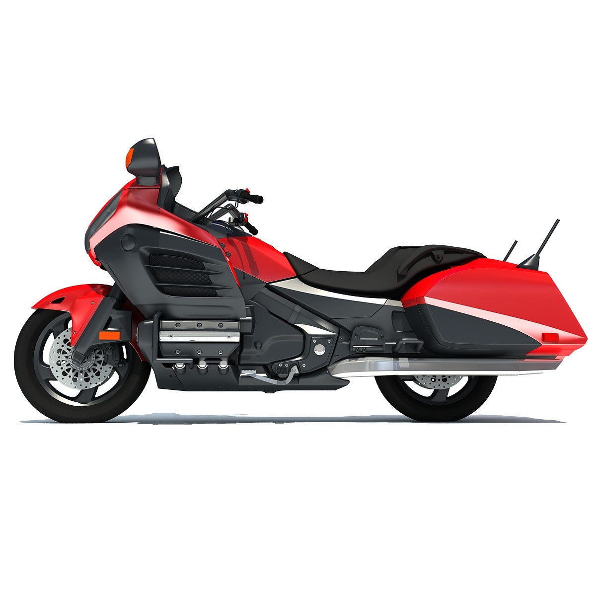 Honda Motorcycle 3D Model