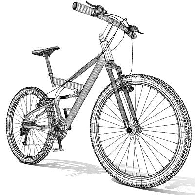 Mountain Bike Model 01