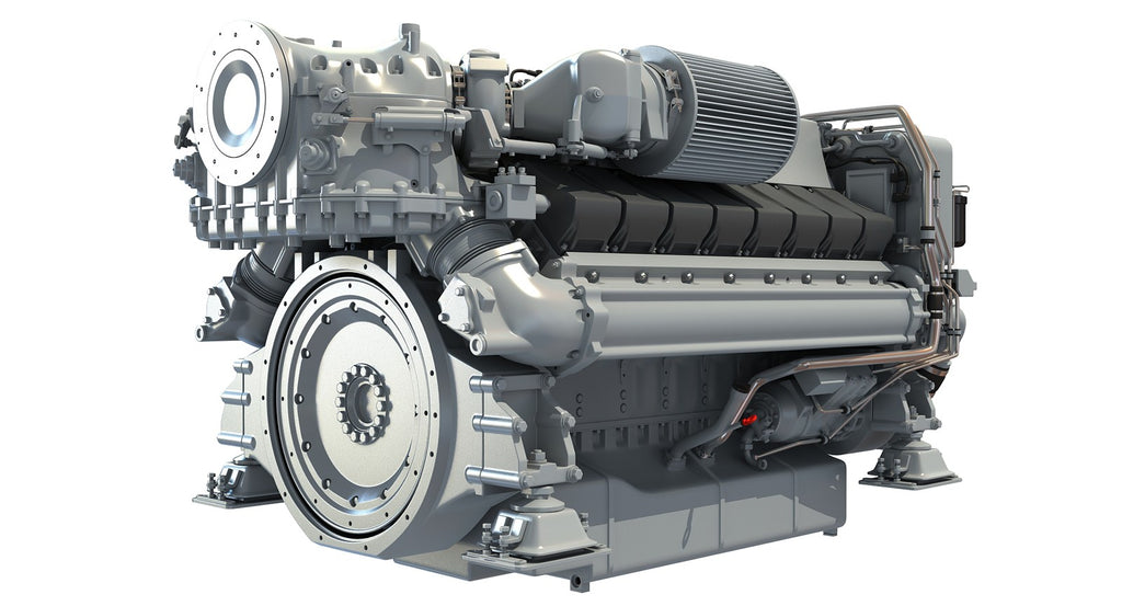 Diesel Engine for Yachts 3D Model