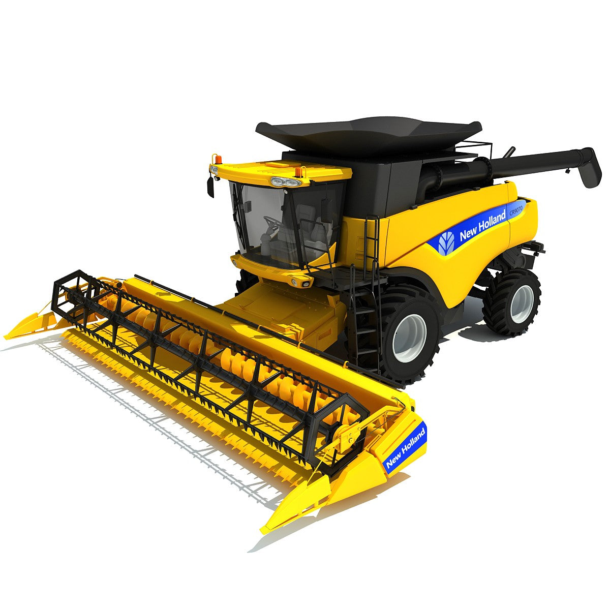 New Holland Combine 3D Model