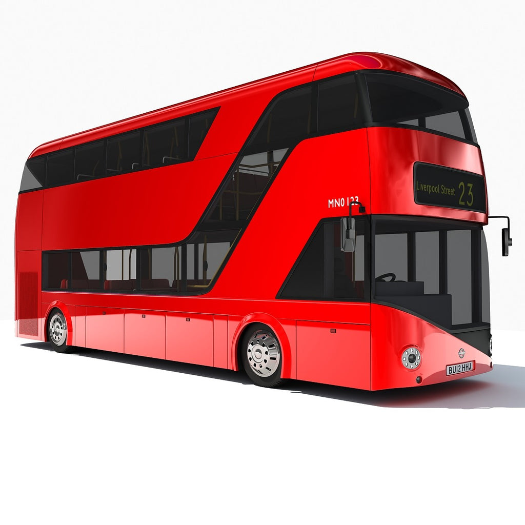 London Double Decker Bus Model