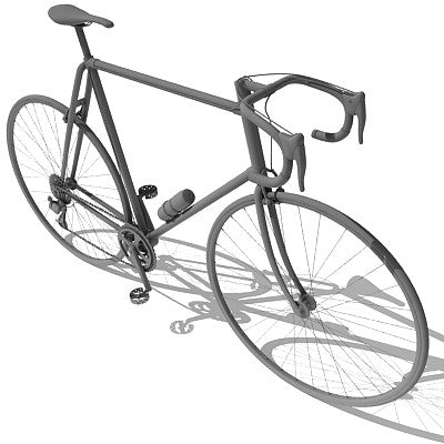 Racing Bicycle 3D Model