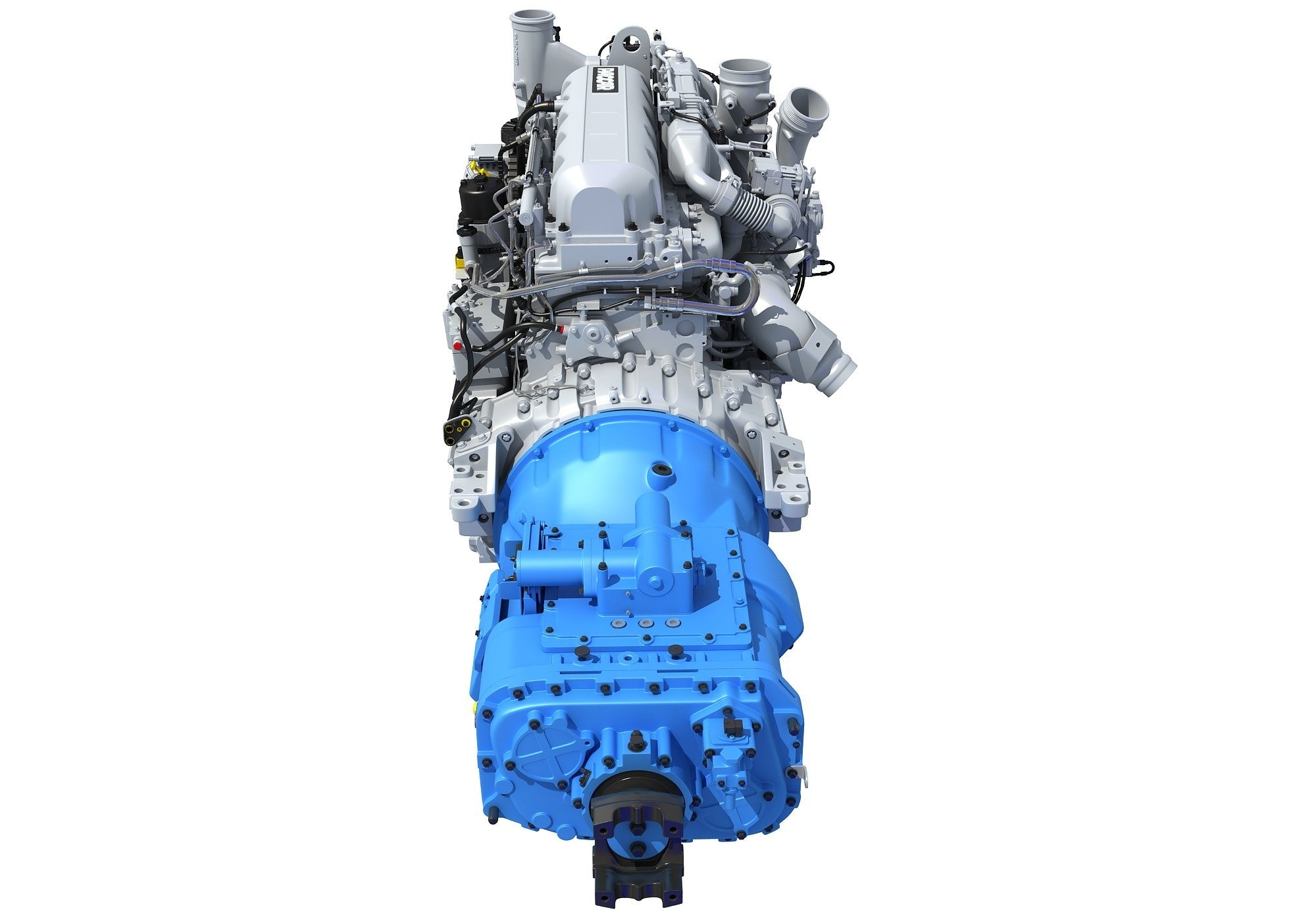 Paccar MX-13 Engine with Transmission