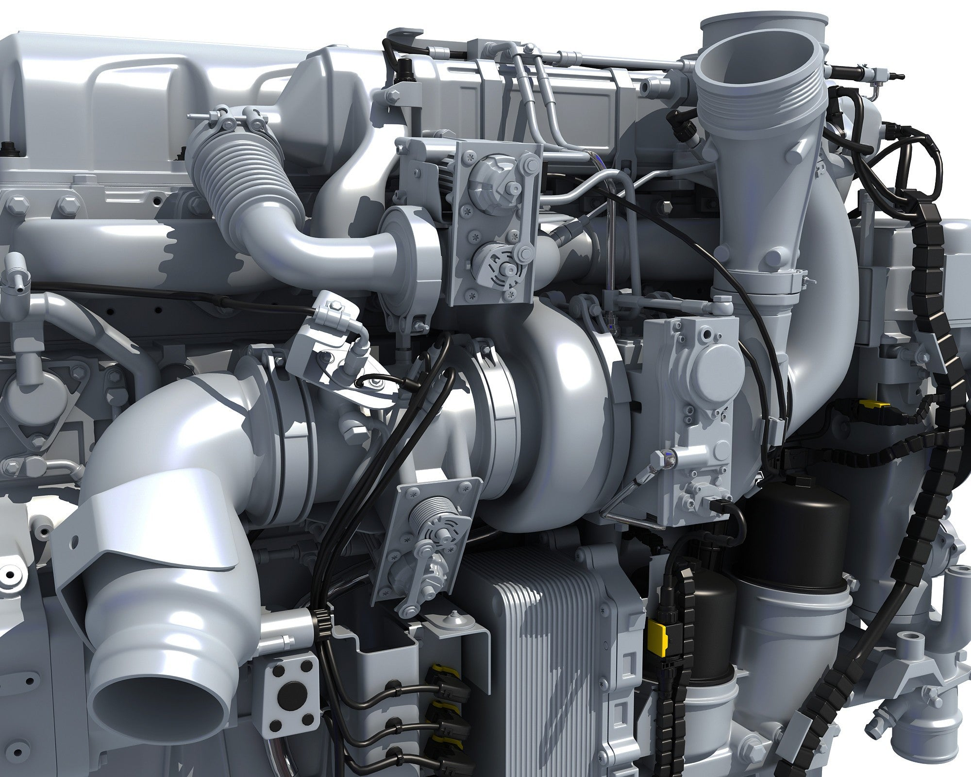 PACCAR MX-13 Powertrain Truck Engine