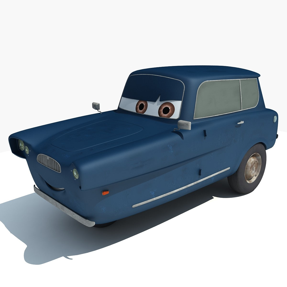 Pixar Walt Disney Cars 3D Models
