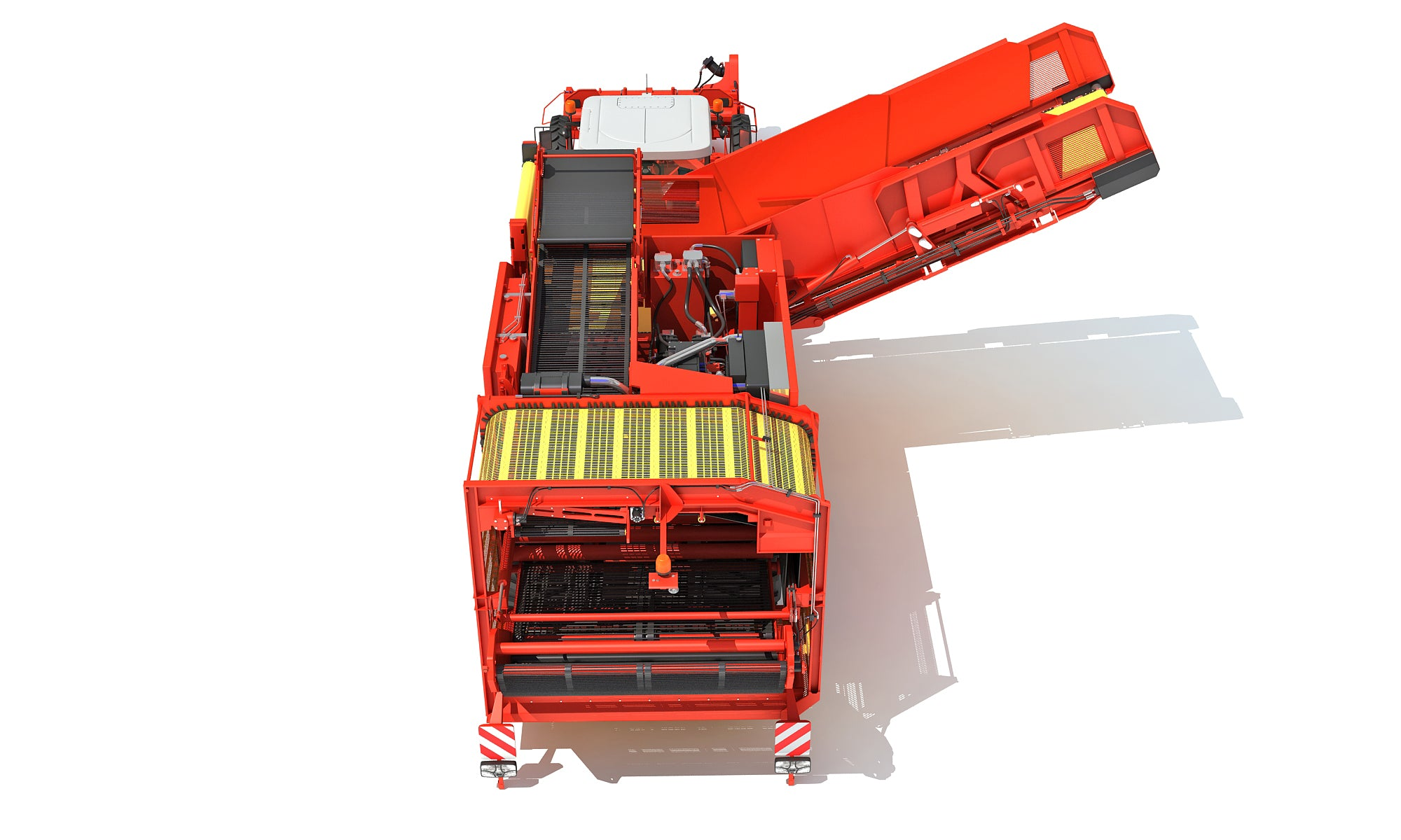 Potato Harvester 3D Models
