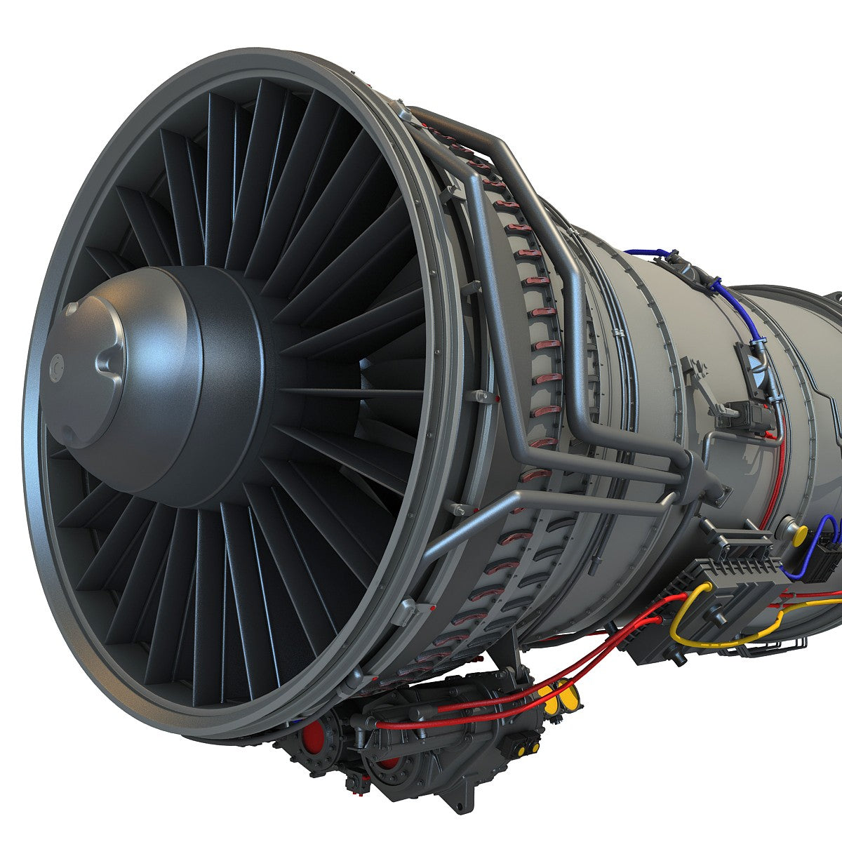 Military Turbofan Engine