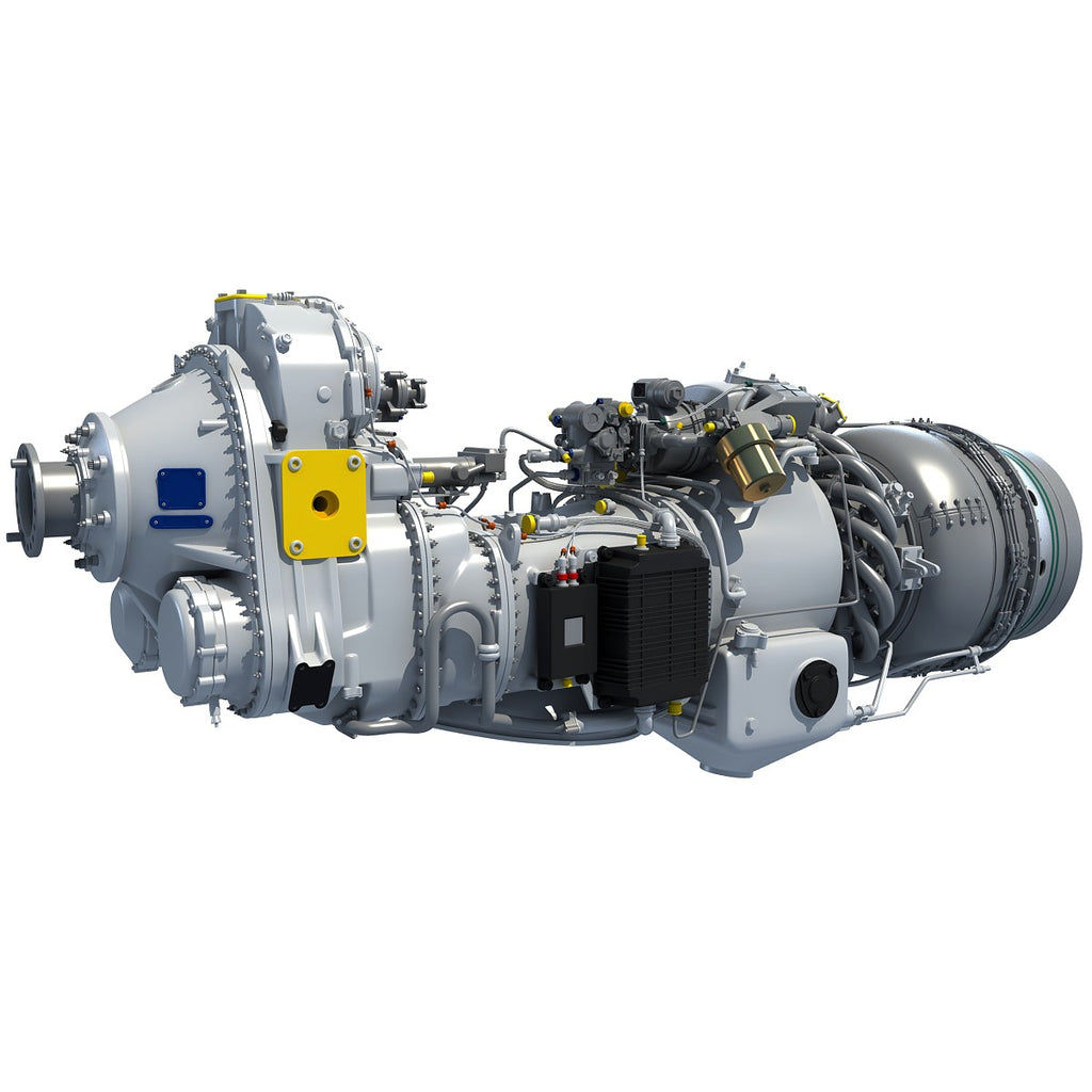 Pratt & Whitney Canada PW100 Turboprop Engine