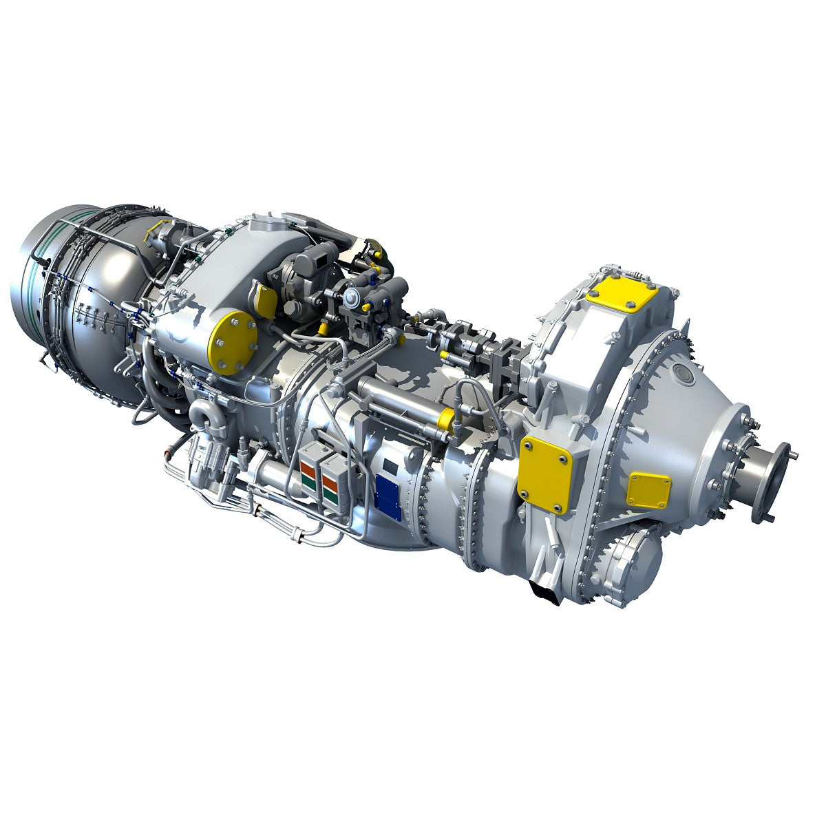 Pratt & Whitney Turboprop 3D Engine Model