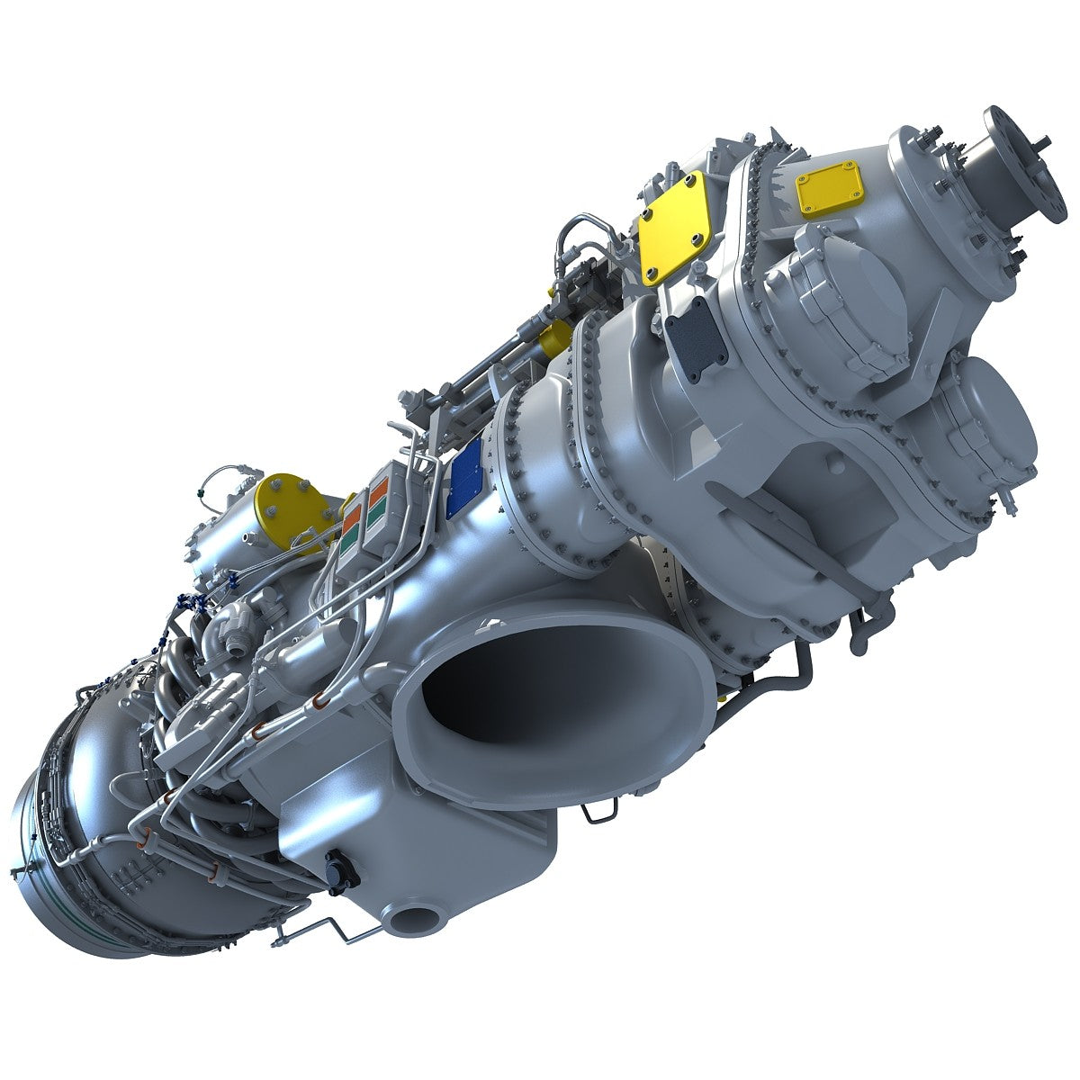 Turboprop 3D Engine Model