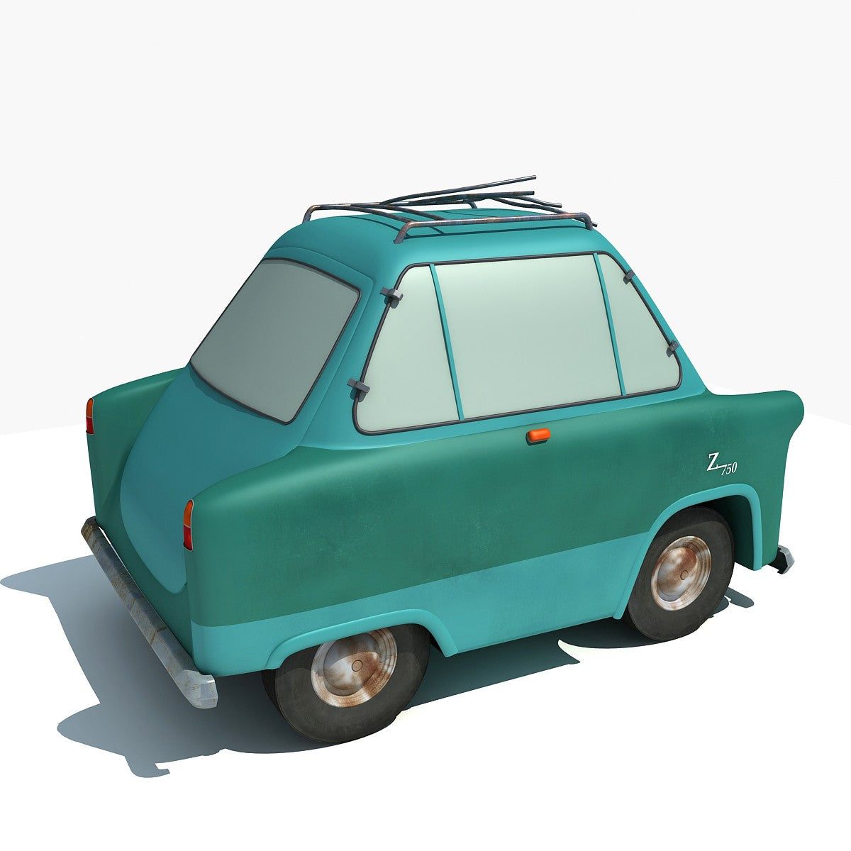Disney Pixar Cars 3D Models