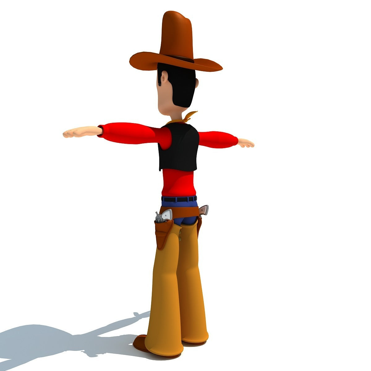 Rigged Cartoon Characters 3D Models