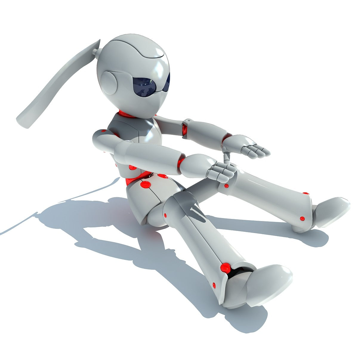 Rigged Robot 3D Model – 3D Horse