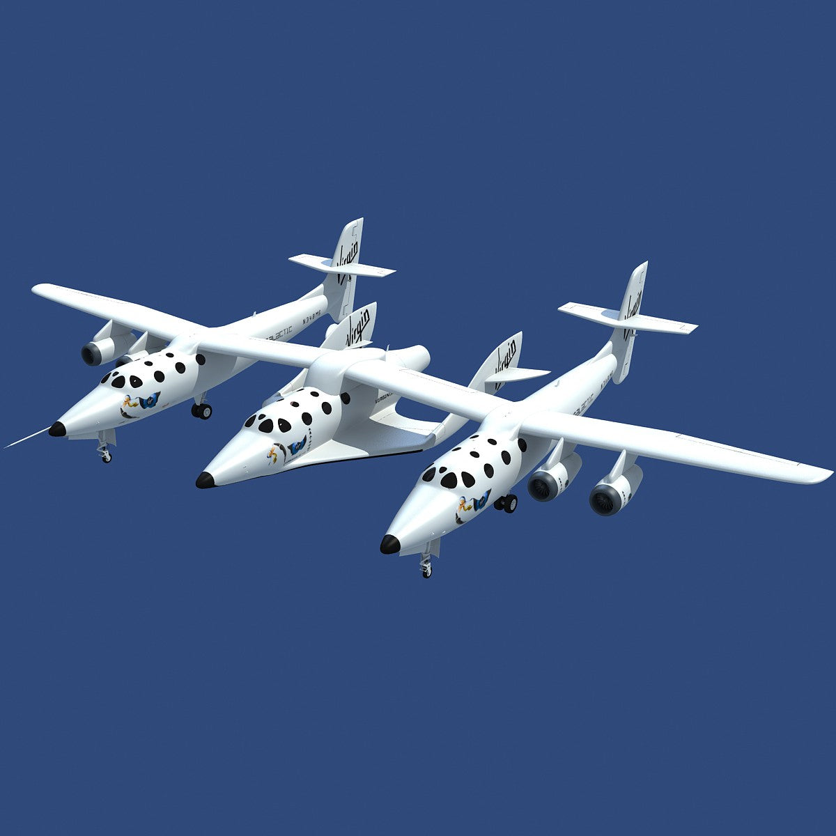 White Knight Two Scaled Composites