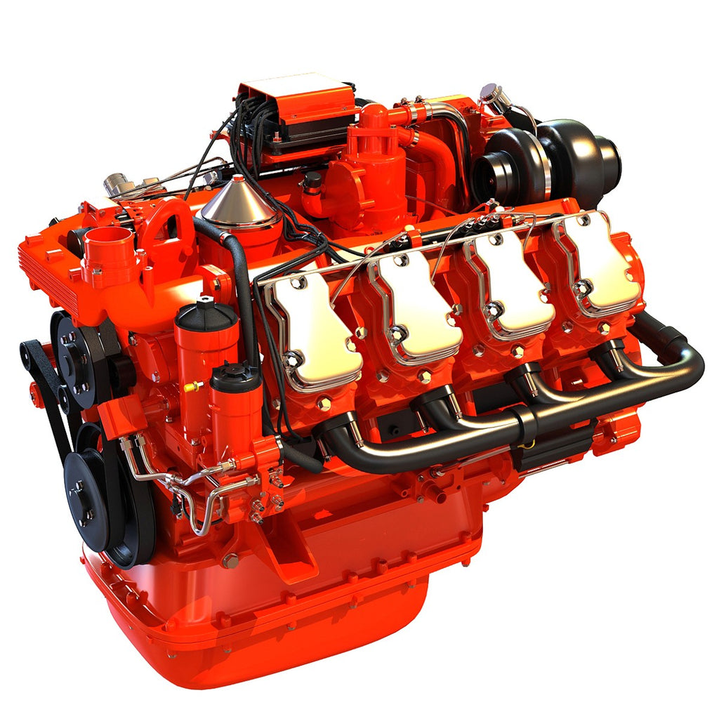 Swedish V8 Engine Industrial Diesel Engines